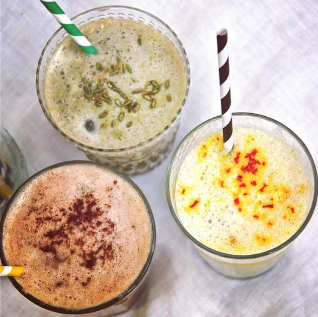 Summer Drinks Idea: 3 Simply & Healthy Spiced Iced Latte