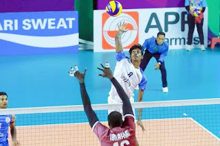 Indian Volleyball Player Ajithlal Chandran
