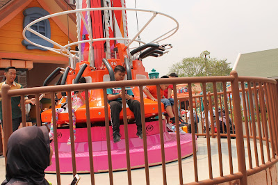 Arena Turbo Drop, uji adrenalin anak-anak