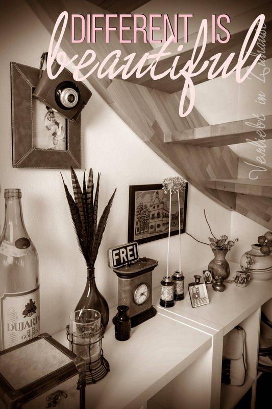 verliebt in zuhause lieblingsecke unter der treppe erz hlt meine vintage deko von. Black Bedroom Furniture Sets. Home Design Ideas