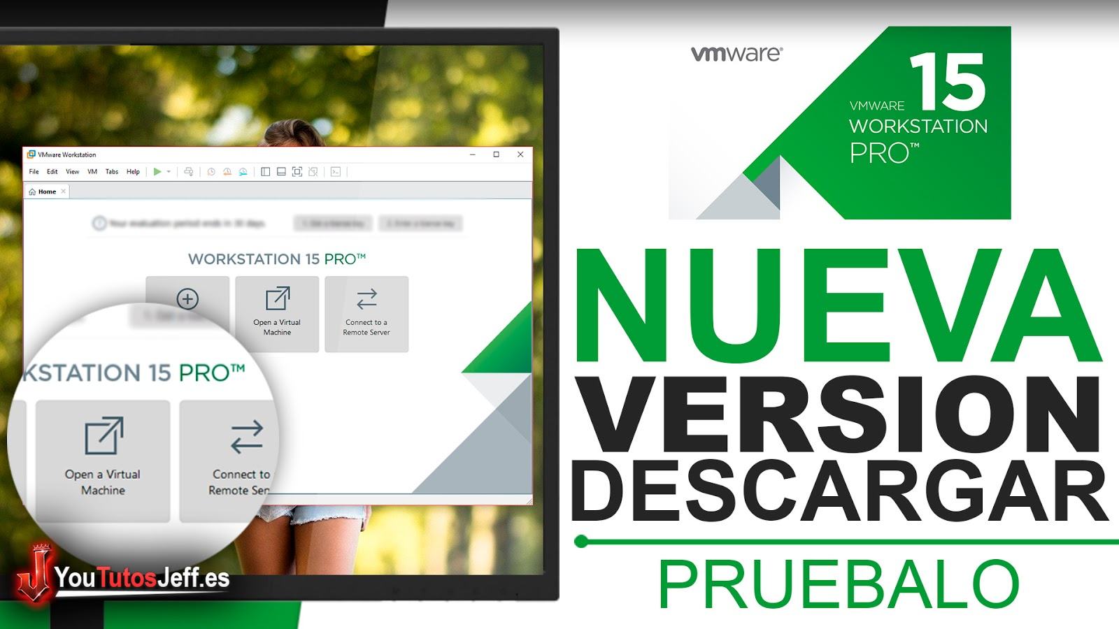 Probar VMware Workstation 15 Gratis - Descargar VMware Workstation 15
