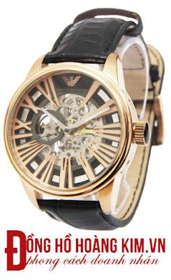 Đồng hồ Armani dây da Ar08V