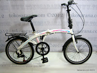 1 Sepeda Lipat Laux Roma 20 Inci - Designed in Italy