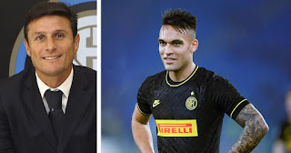 Zanetti confirms Lautaro will not be leaving Inter this season ahead of Barcelona rumors