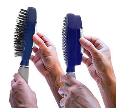 Self-Cleaning Hair Brush