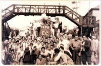1933 - Recibimiento del Club Central Cordoba ganador de la Copa Beccar Varela