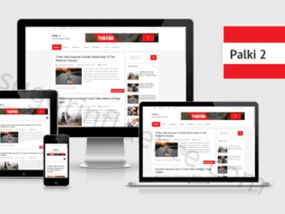 Palki 2  Best Responsive Blogger Template
