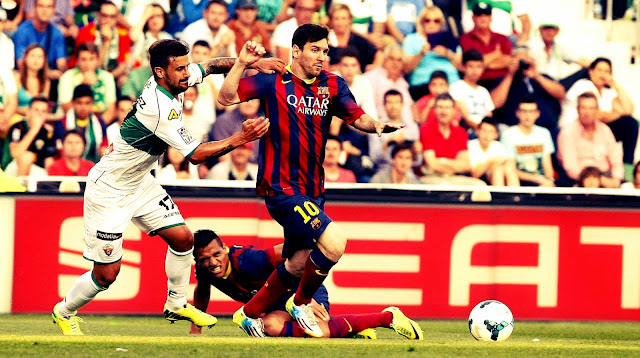 FC Barcelona vs Elche Highlights