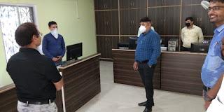 डीसी मनरेगा ने सिक्योर लैब का किया उद्घाटन | #NayaSaveraNetwork