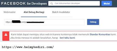 Cara mengajukan banding url blog