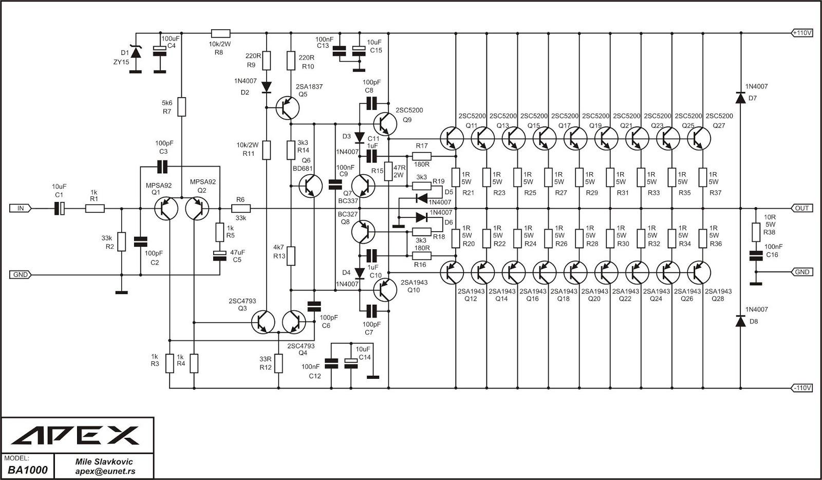 Imam Tech Innovation Power Amplifier Apex Ba