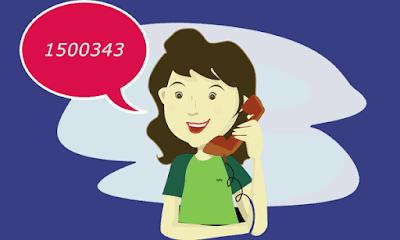 melakukan panggilan call center fifi group untuk mengetahui nomor kontrak pembayran yang lupa