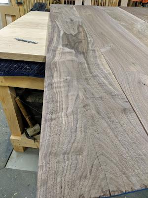 rough sawn walnut