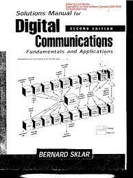 [PDF] Solutions Manual Digital Communications Fundamentals Bernard Sklar
