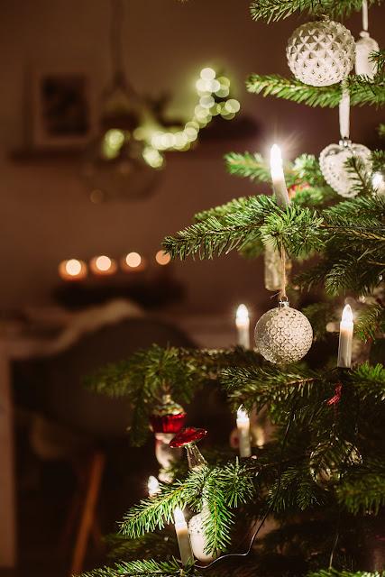 Christbaum, Weihnachten, Pomponetti