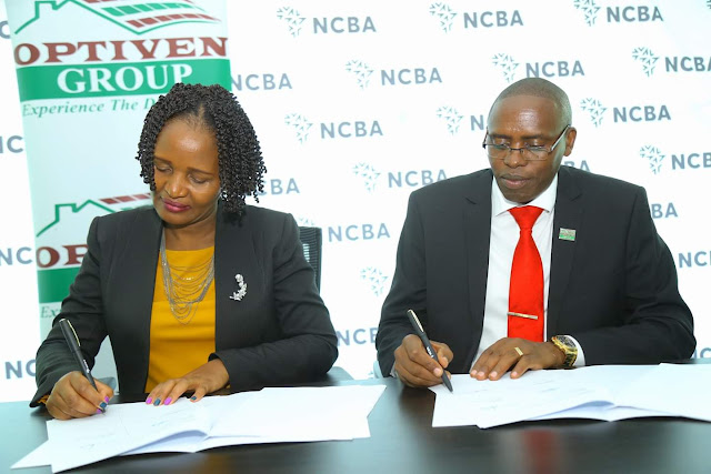 NCBA, Optiven Partnership