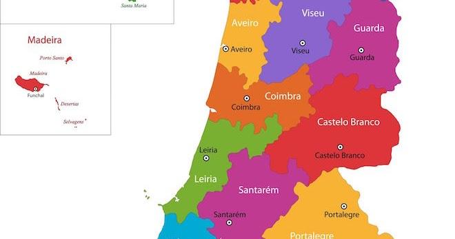 Portuguese Wine Regions And History Grapes Grains - Portugal estremadura map