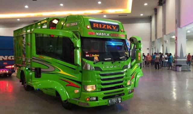 Modifikasi truck Karoseri terbaru