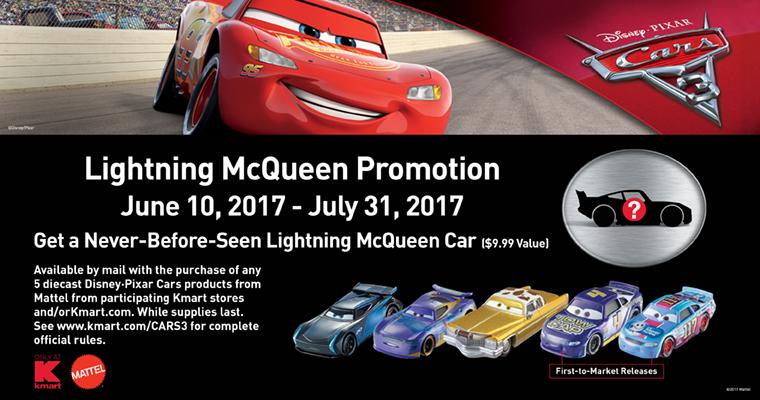 mattel kmart cars 3 2017 event