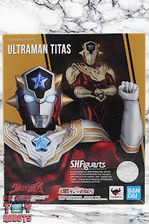 S.H. Figuarts Ultraman Titas Box 01