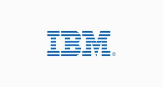 خط لوجو IBM
