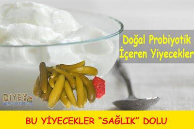 doğal probiyotikler