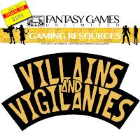 Free GM Resource: Villains and Vigilantes Supplementals