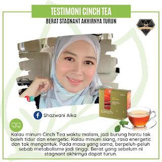 Testimoni Cinch® Tea Mix shaklee inch loss turun berat badan