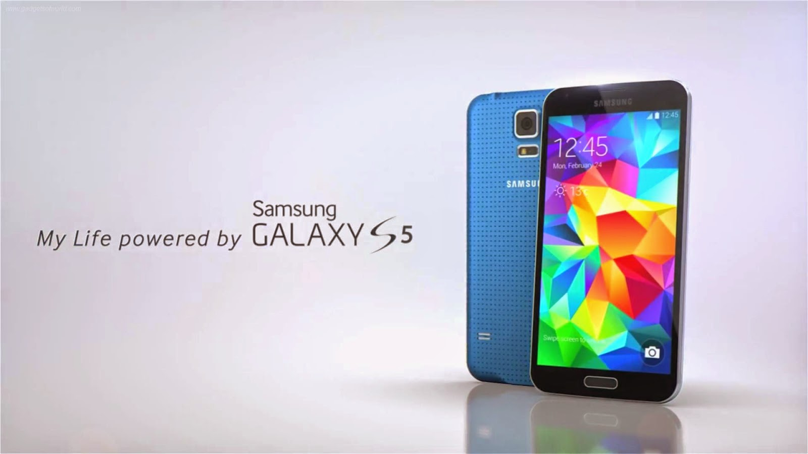 Galaxy S5:Best Water Proof mobile from Samsung