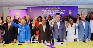 PLD juramenta Comando Provincial Campaña de San Cristóbal