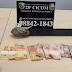 Polícia Militar detém casal após tentativa de fuga por posse de drogas na zona leste
