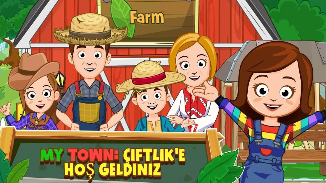 My Town Çiftlik Hileli Apk - Tüm Kilitli Özellikler Açık Apk