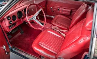 1968 AMC AMX Sports Coupe Cabin Interior