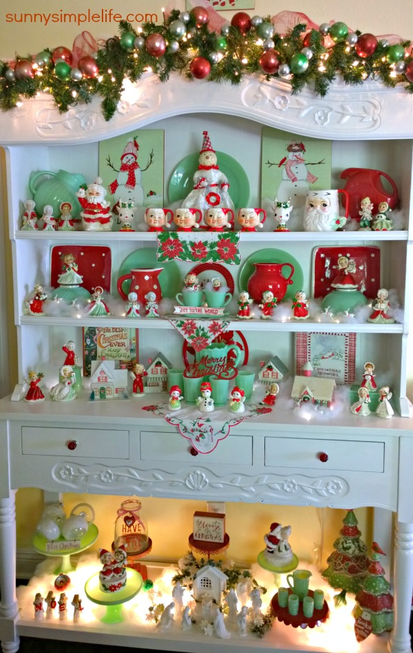 jadeite collection, red and jadeite Christmas