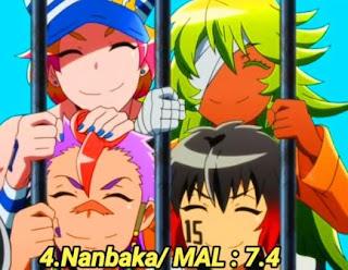 Nanbaka anime terbaik