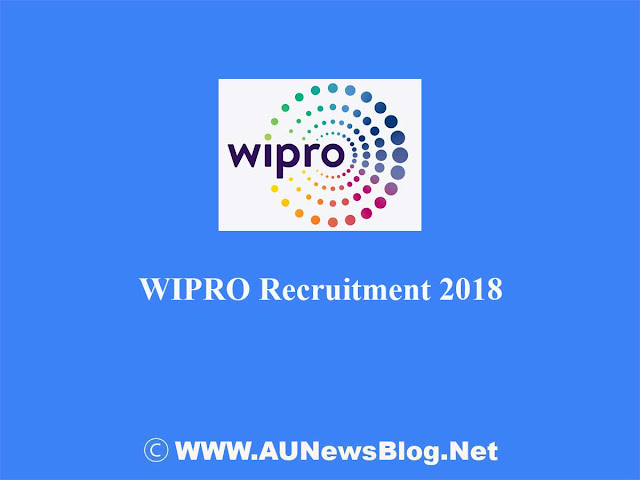 WIPRO Vacancy 2018 for Freshers, Engineers