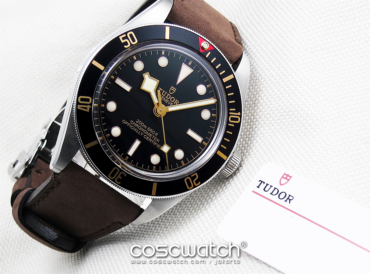 Tudor Heritage Blackbay 58 Leather New In Box Coscwatch Jam
