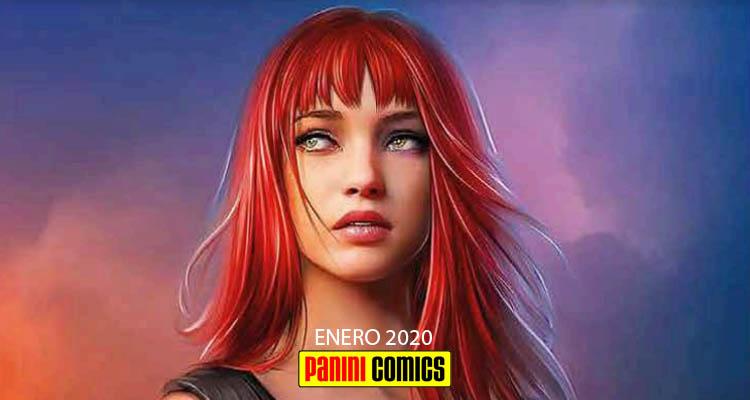 Panini Cómics: Novedades Enero de 2020