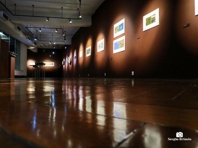 Vista artística de uma Exposição na Caixa Cultural SP - Sé - São Paulo