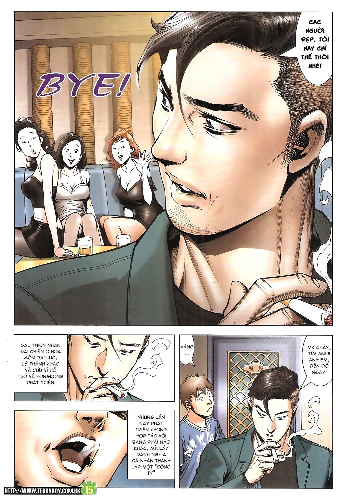 Người Trong Giang Hồ chapter 1912: đại náo lãng hào phường trang 14