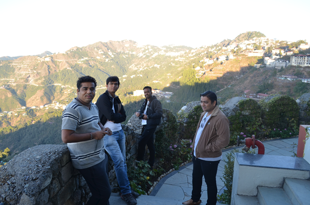 Morning in The Mussoorie
