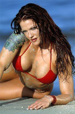 Seems wwe lita breast exposed