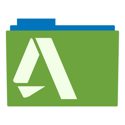 Preview of Autocad, green, software, logo, icon