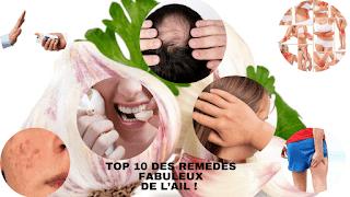 Les dix meilleurs remèdes fait maison à l'ail
