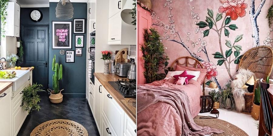Przytulne wnętrze z intensywnymi akcentami, wystrój wnętrz, wnętrza, urządzanie domu, dekoracje wnętrz, aranżacja wnętrz, inspiracje wnętrz,interior design , dom i wnętrze, aranżacja mieszkania, modne wnętrza,