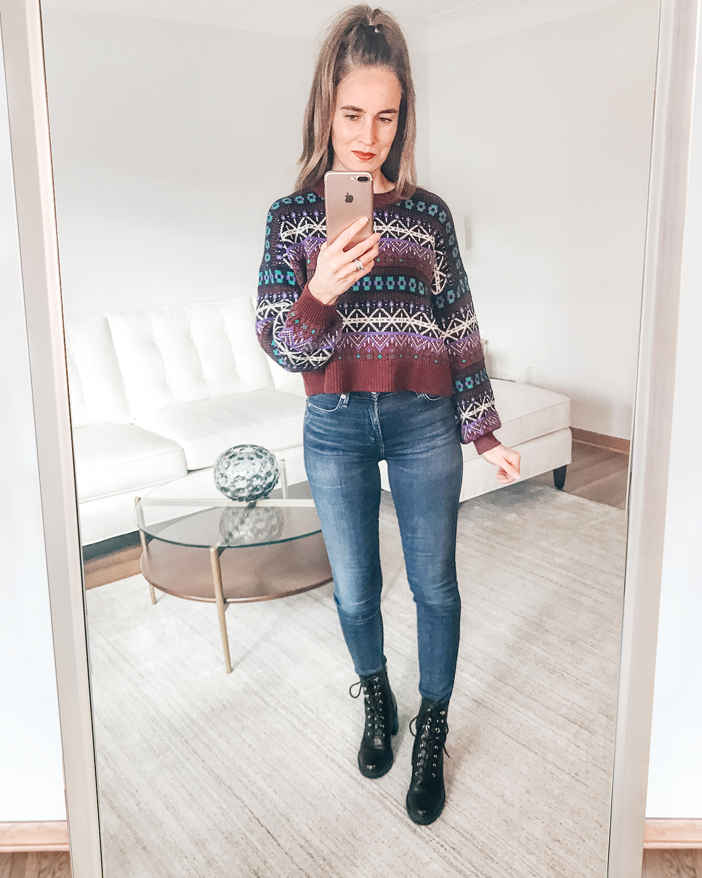 Aerie Fair Isle Sweater Black Friday Sales 2020