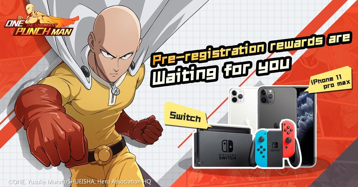 Game Mobile One Punch Man: The Strongest Buka Masa Pra-Registrasi
