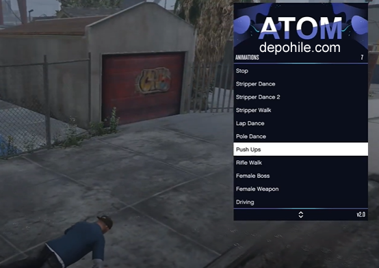 GTA 5 Online 1.55 Atom Menu Para, Level Hile Bedava 2021