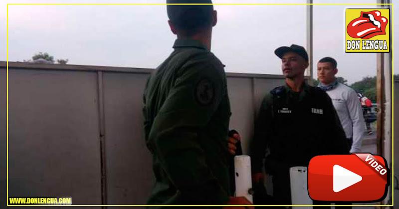 Guardias venezolanos cruzaron la frontera para cargar teléfonos celulares en Colombia