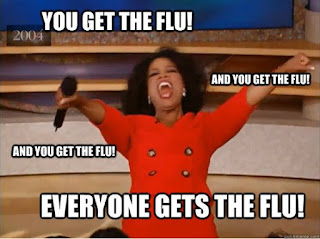 flu jokes, flu humor, flu virus, american flu, flu comic
